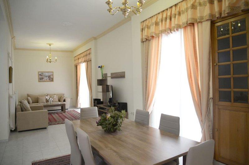 110sm 1st floor apartment in Palaio Faliro, holiday rental in Paleo Faliro