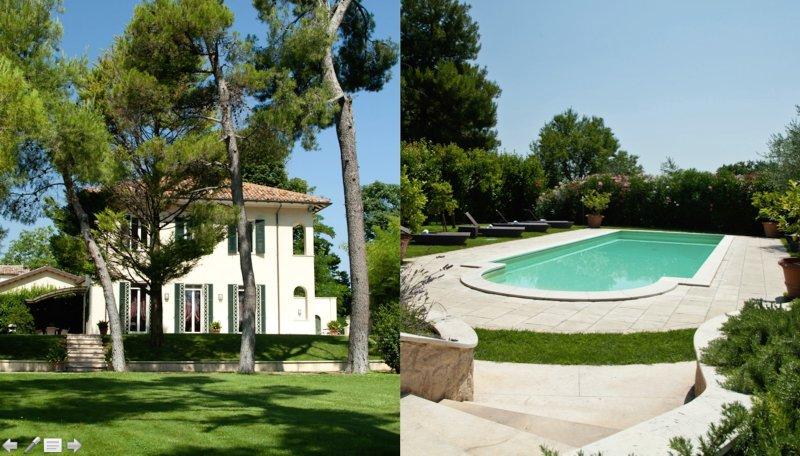Villa con piscina e giardino bioenergetico a 3 km dal mare e dal centro di Fano, aluguéis de temporada em Fano
