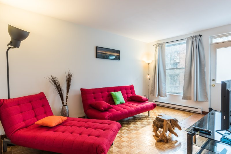 living room - new sofa