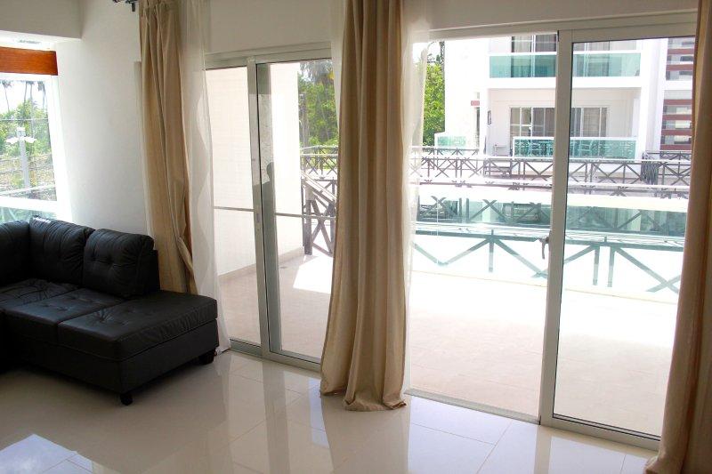 Vista sul terrazzo - Appartamento Punta Cana