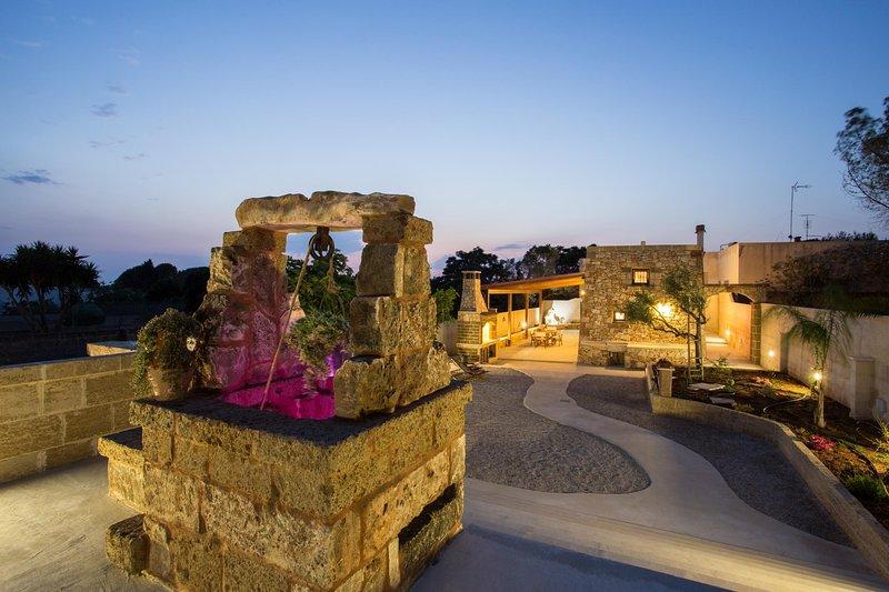 Cute Seaside Trullo, vacation rental in Torre Suda