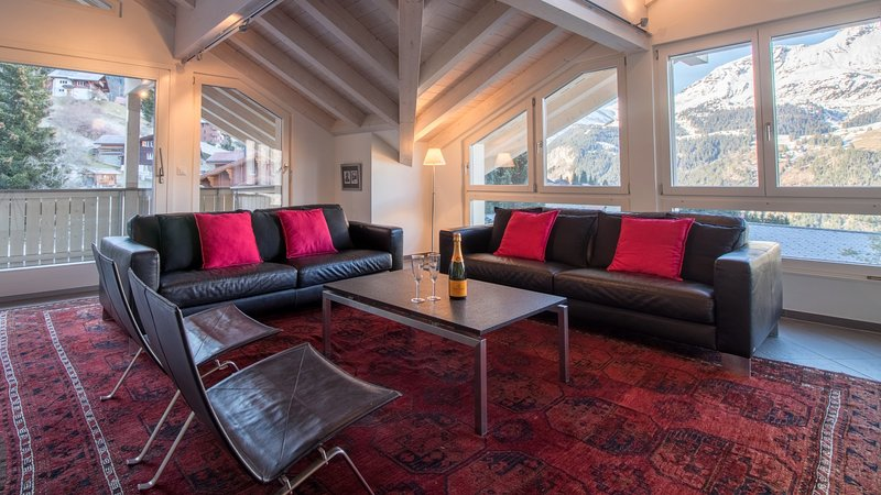 Chalet Brunner Penthouse, vacation rental in Bernese Oberland