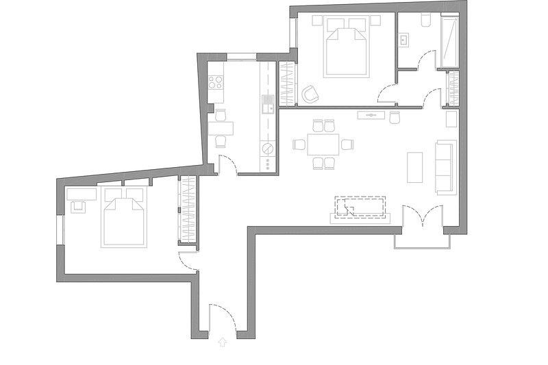 90 m² | primer piso | ascensor