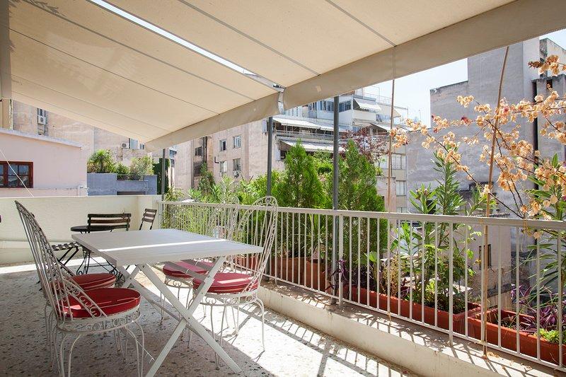 Apt CT2 - Balcony