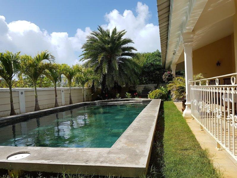 Turquoise Villa, location de vacances à Cap Malheureux