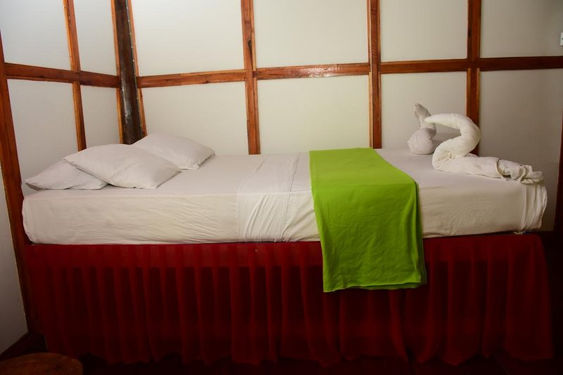 DBL Bed Room in Lodge