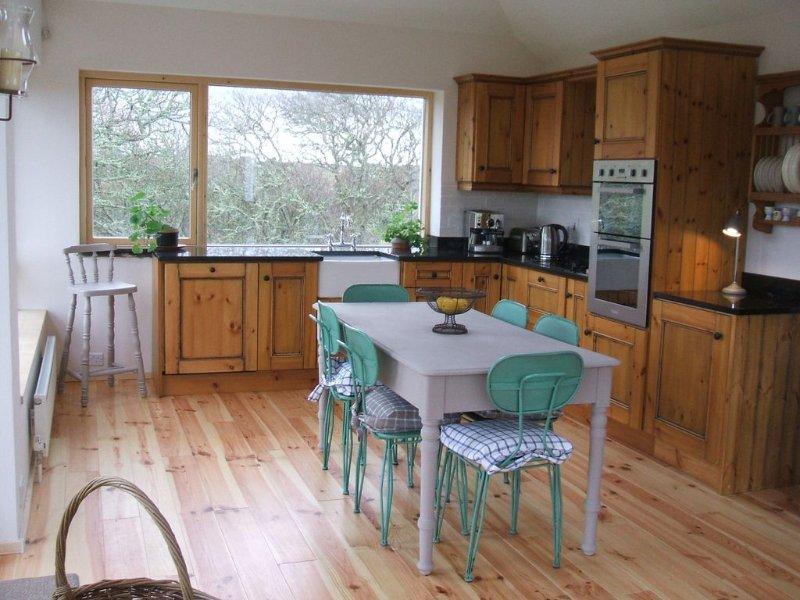 New studio room & kitchen.