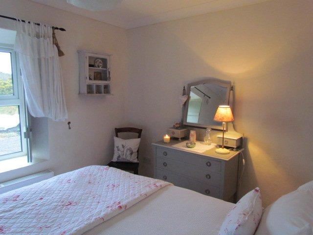 Master Bedroom & vintage dressing table.