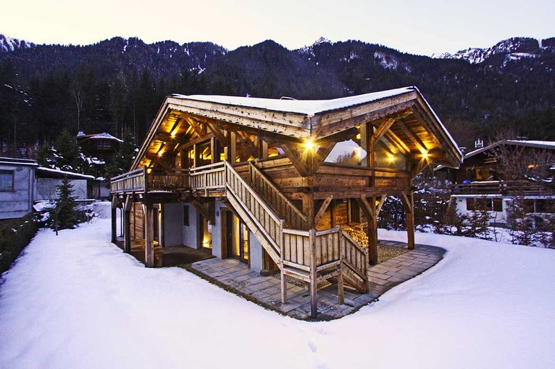 Chalet Winter view