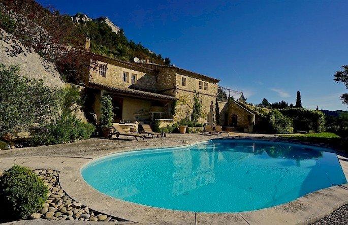 Villa Rocher Les Baux de Provence Villa rental, holiday rental in Les Baux de Provence