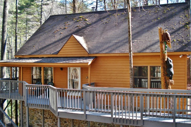 Book this vacation rental cabin for an unforgettable North Carolina getaway!