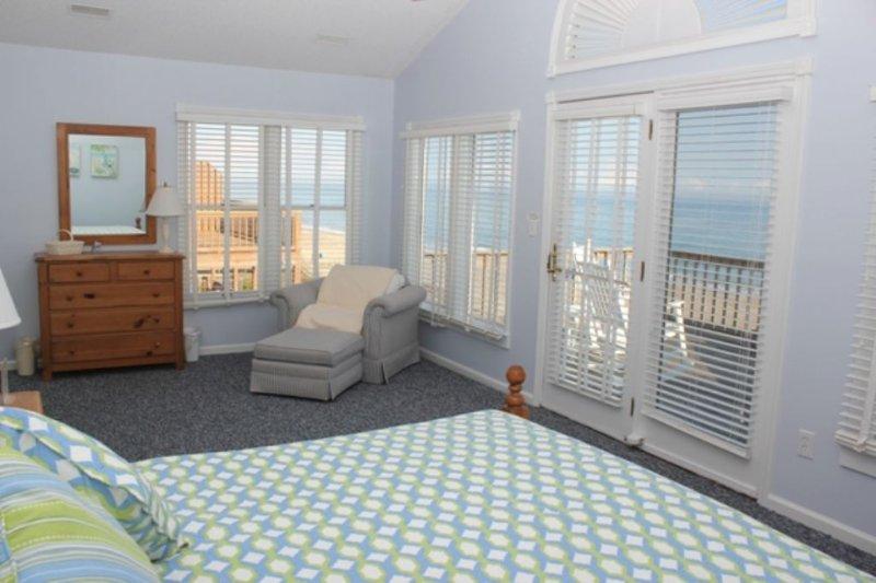 Master Bedroom w/Full bath,Ocean Views,  Top Level