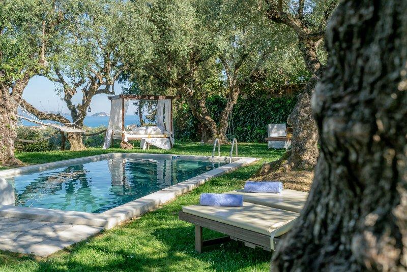 Vafias 7 bedroom - Private Pool Villa, location de vacances à Porto Koukla