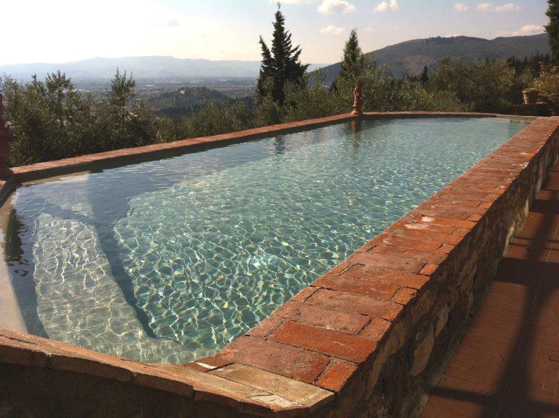 Amazing villa with swimming-pool, casa vacanza a Calenzano