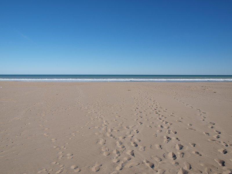 Playa Canet. Playa de Canet.
