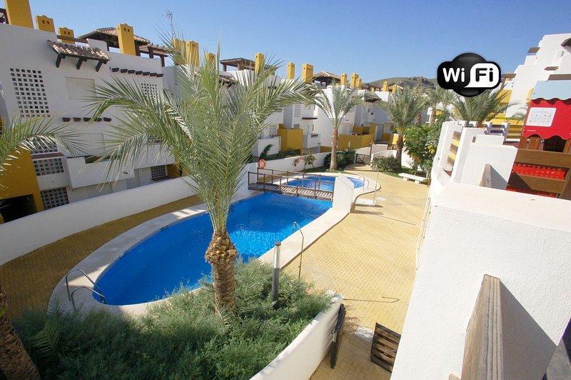 Lomas del Mar 5- WiFi, jardín privado y piscina climatizada, alquiler vacacional en Playas de Vera