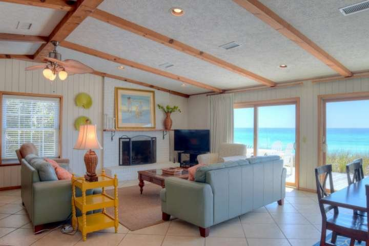Welcome to Fine View, a lovely four bedroom house right on the beautiful white sand beaches of 30A!