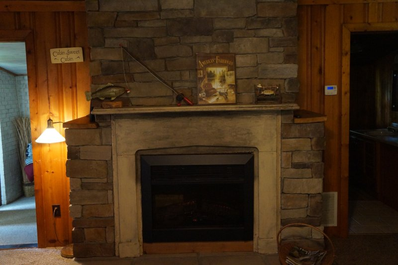Our Warm and Cozy Fireplace is Waiting For You