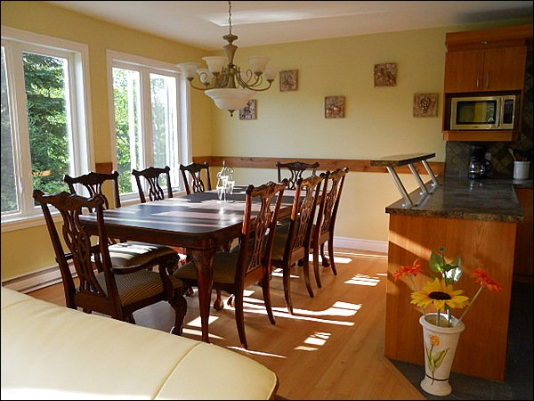 Large Charming Dining Area