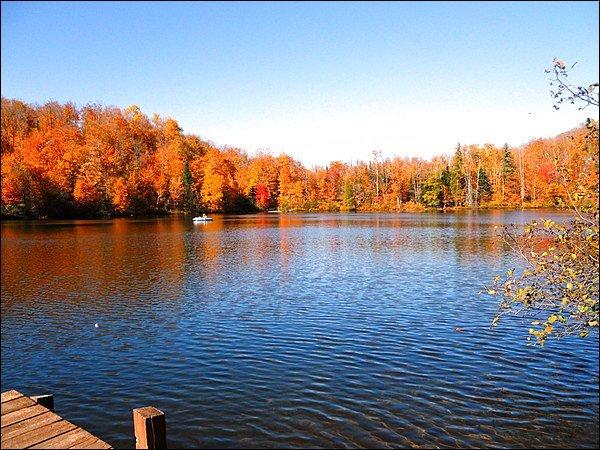 View of Lac Lauzon
