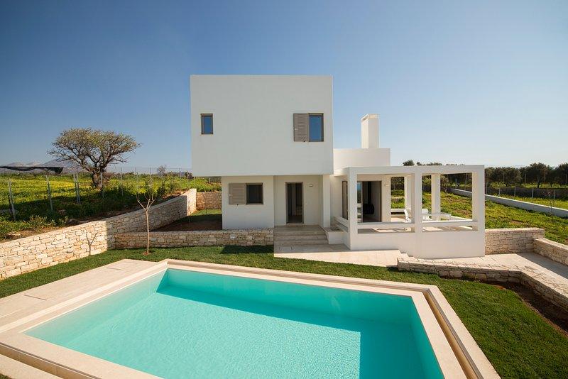 Giasemi Villa, Just 300m From Panormo Beach, Rethymno, alquiler vacacional en Roumeli
