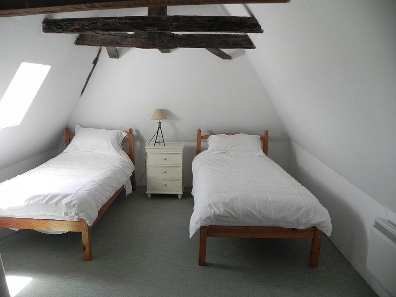 Quarto no primeiro andar duplo com casa de banho completa en-suite