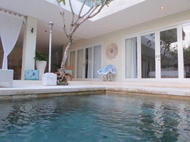 Villa Savasana bedroom exterior - all 3 bedrooms have pool views