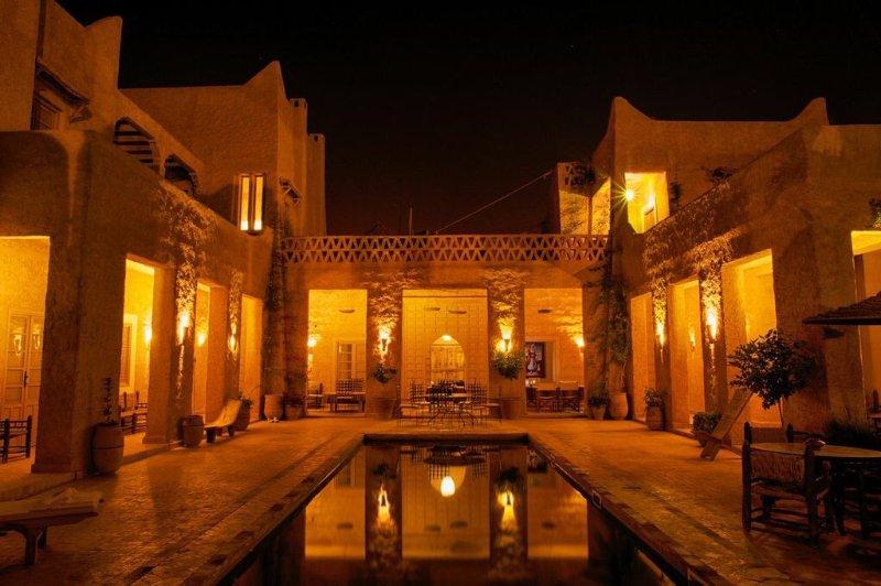 The Palace at night