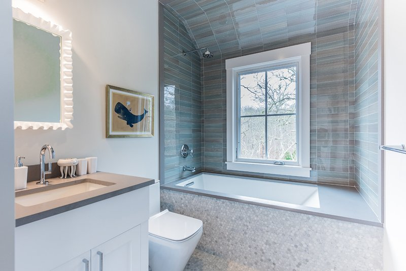 Guest Bath, Shared by Bedrooms 3 & 4