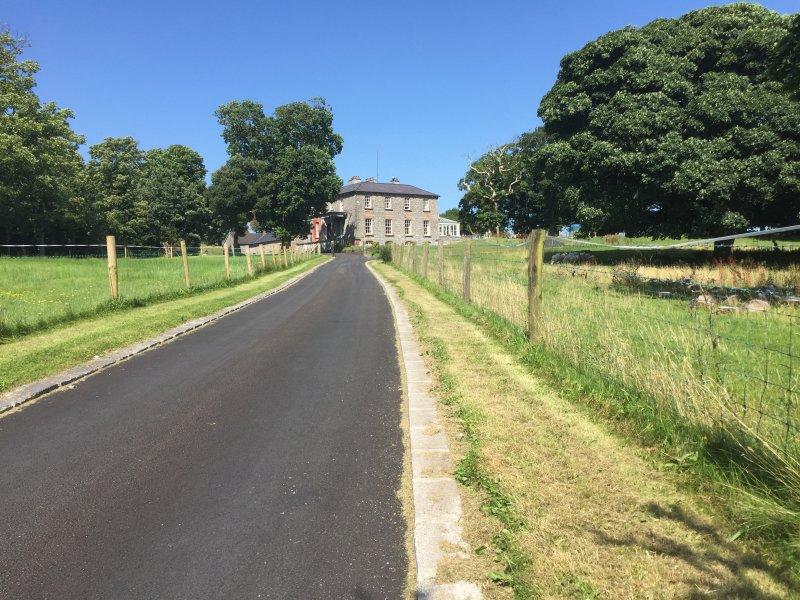 Main Entrance Country Manor