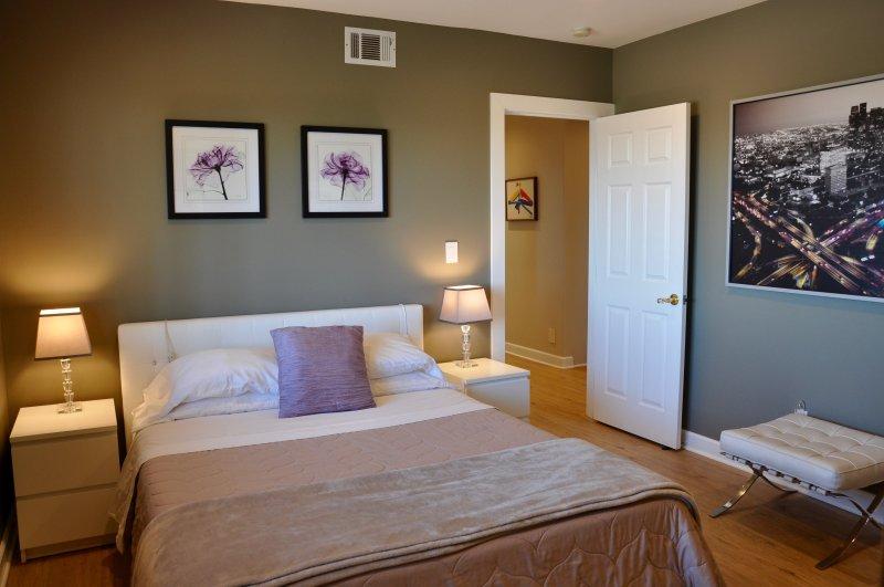 Chambre 2 avec lit queen mousse à mémoire