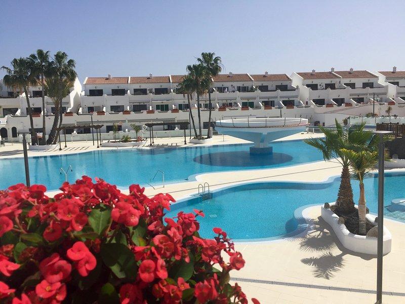 Elegante appartamento - 2 camere - con solarium privato - full optional, holiday rental in Costa del Silencio