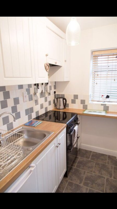 Kitchen. Washing machine and tumble dryer available in the out building.