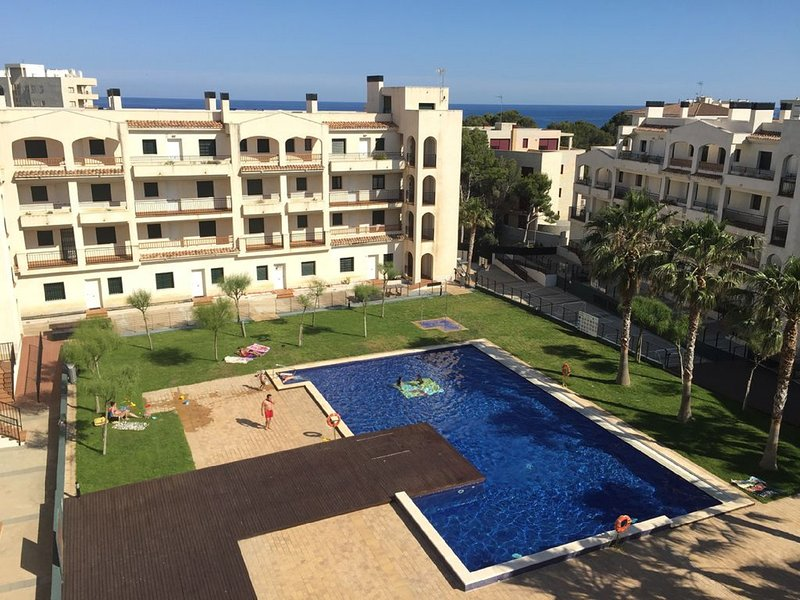 residential complex with direct access to the beach 100 meters away