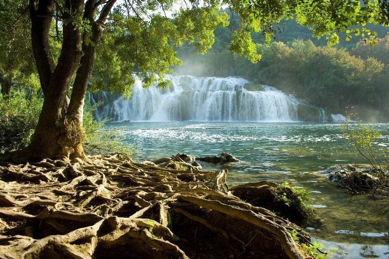 Parc national de Krka, à 40 km de Rogoznica