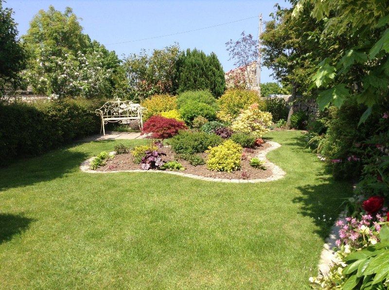 Outra área ao lado do jardim