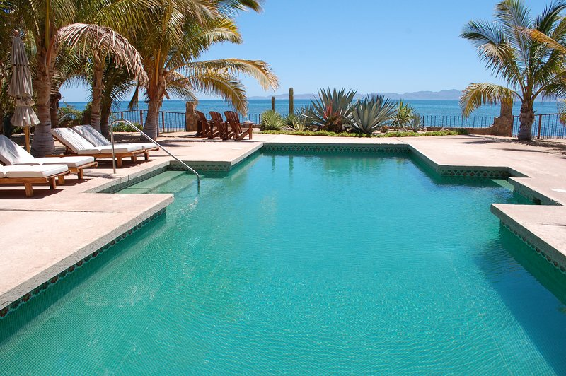 40X20 ft pool on the Sea of Cortes