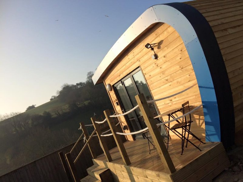 An Idyllic Glamping Escape Pod-  a unique stay, holiday rental in Beer