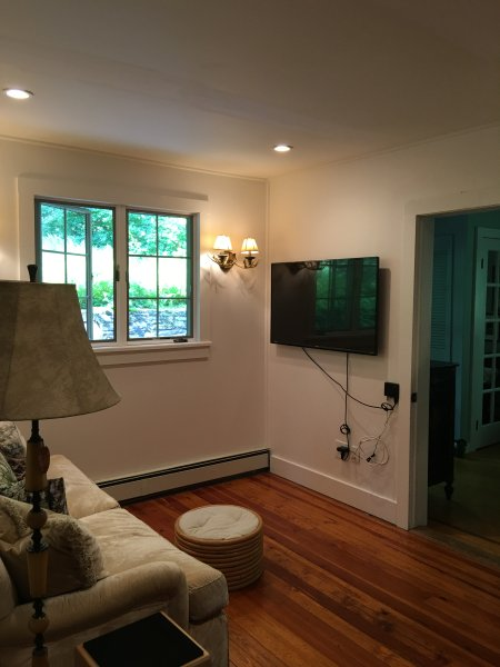 small den smart tv. we have another large room with a huge couch and tv