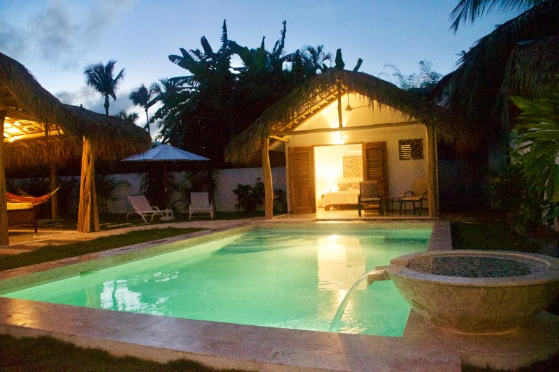 Just Steps from the Beach & Town, Sans Souci is Care Free in Las Terrenas, vacation rental in Las Terrenas