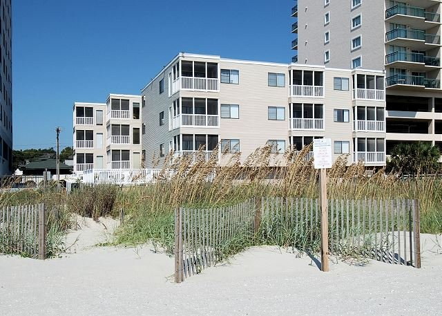 Palmetto Dunes Exterior from the Beach