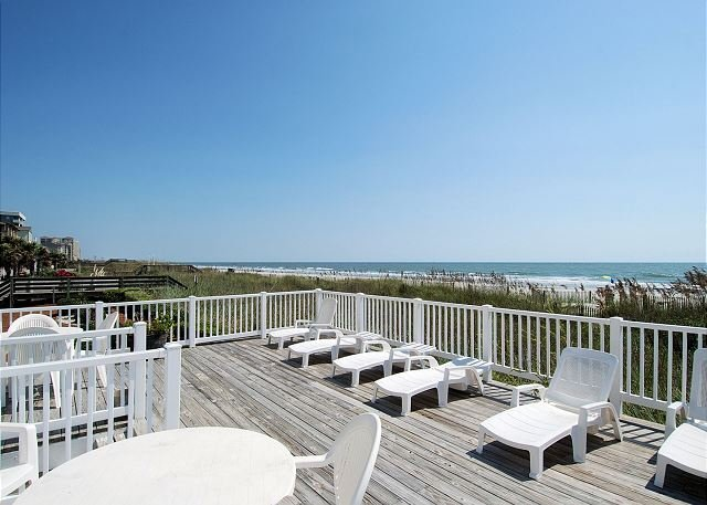 Work on your tan on the Oceanfront Sun Deck!