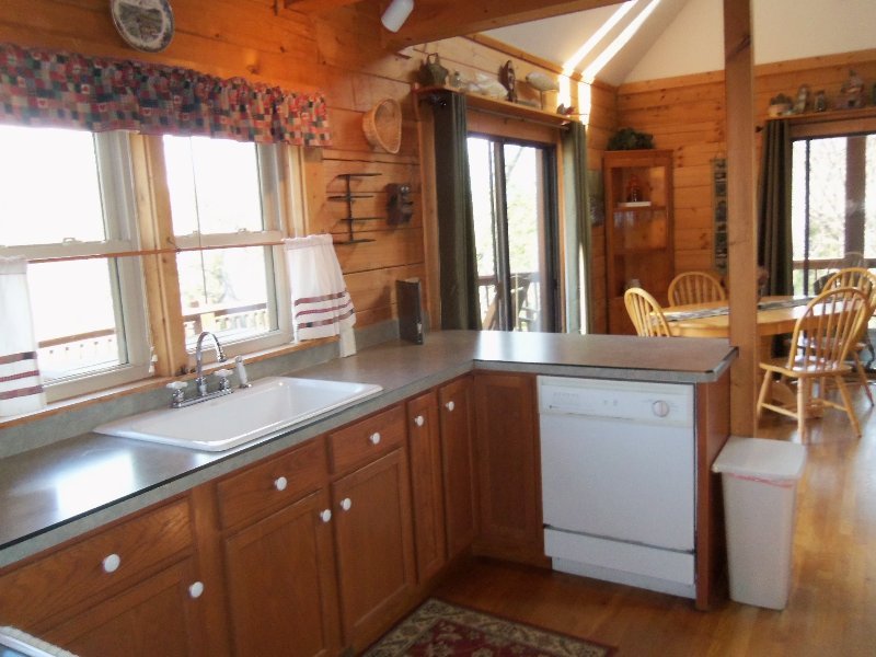 VERY well stocked kitchen with all amenities.