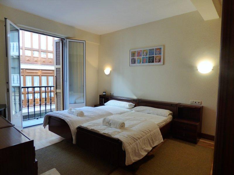 Bonito y espacioso piso en centro de zarautz, holiday rental in Zumaia