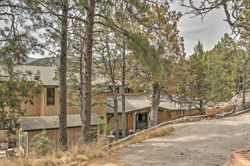 You're sure to make lasting memories when you stay at this Ruidoso vacation rental home.