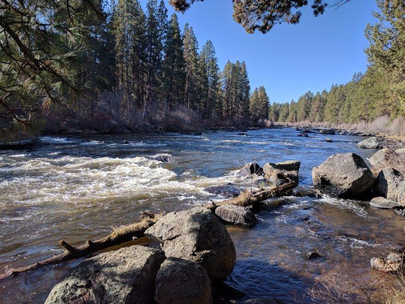 Deschutes River Trail punto de vista!