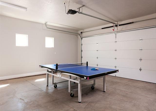 Ping Pong Table-Garage