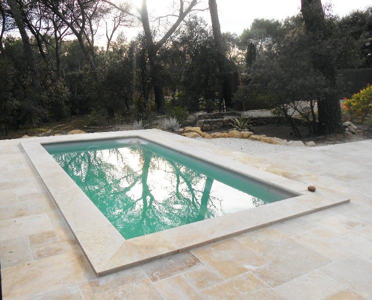 private pool terrace & Travertine