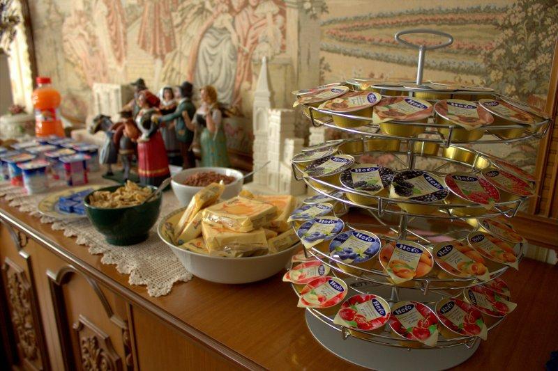 Details about breakfast. Colazione.