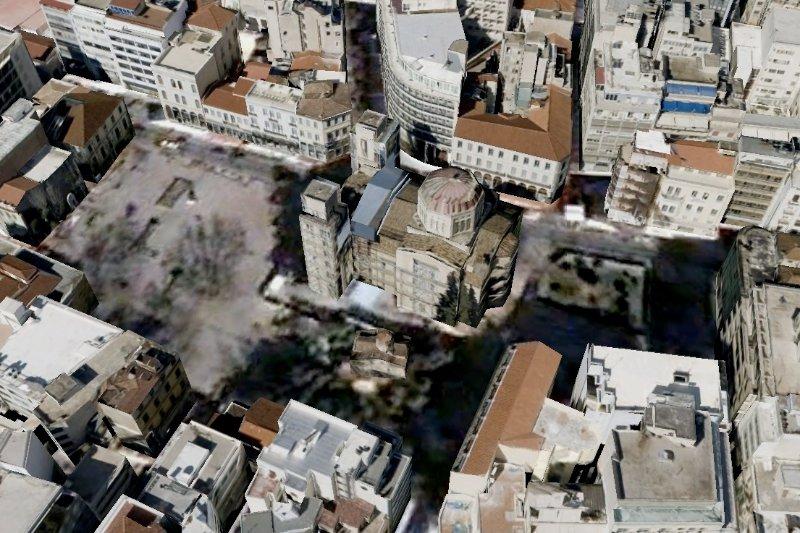 Apartment location on Google earth
